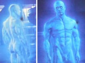 Halo's Cortana as a man