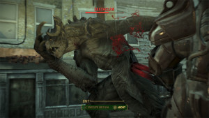 To take out enemies like this, sometimes you have to have friends, or in Fallout 4, your own army that can come to the rescue.