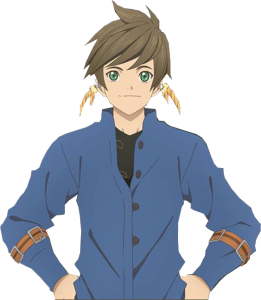 Michael loves it when someone looks good in blue, and Sorey pulls it off magnificiently