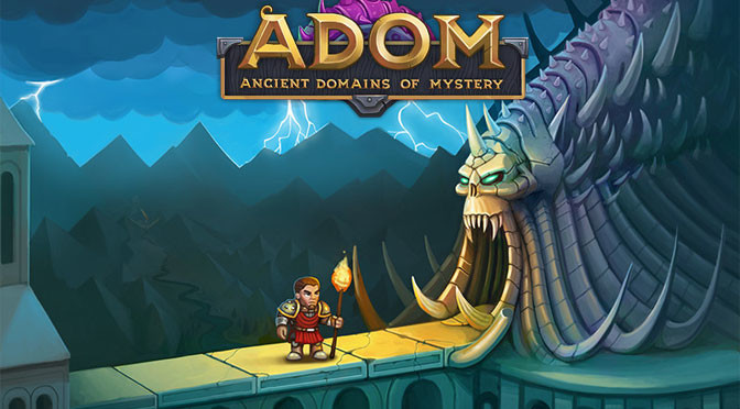 Re-loving Ancient Domains of Mystery (ADOM)