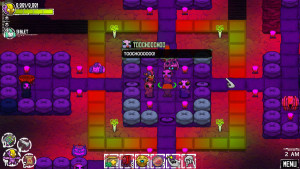 The graphics in Crashlands are colorful and fits the fun mood of the game perfectly.