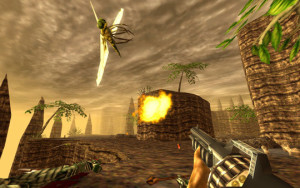 Unfortunately, not every bug in the game is so easily shot. Remade or not, Turok does show its age just a bit.