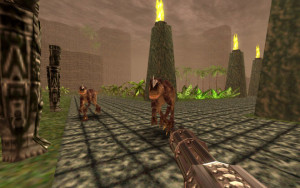 Turok also fights a lot of dinosaurs, which is kind of his thing.