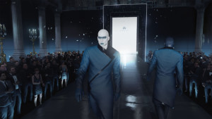 Hmm. Doesn't this model look like someone we all know? Opportunities to take over new identities are what the new HITMAN is all about.