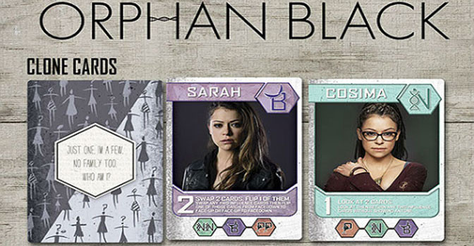 Clones and Cards with Orphan Black: The Card Game
