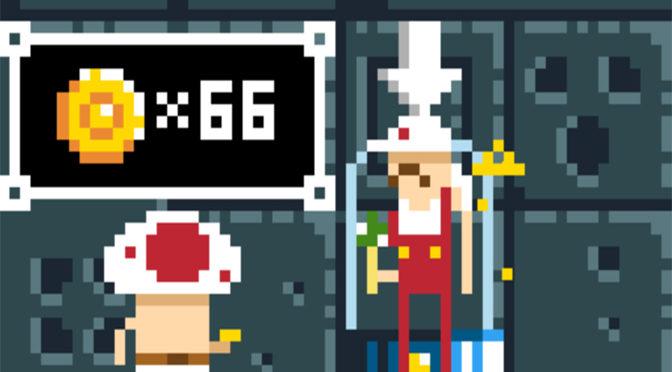 Reimagining Mario in 1985