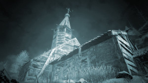 I wonder if we can hide from some of those horrors inside this old church. Flash poll: good idea or a very bad one?