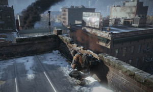 Like with the real New York City, the environment in Tom Clancy's The Division spans both out and upward.