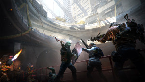 Combat can be pretty brutal, especially for an online game, especially in some of the more challenging parts of the city.