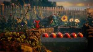 This is one of the most beautifully rendered worlds out there, especially for a platformer.
