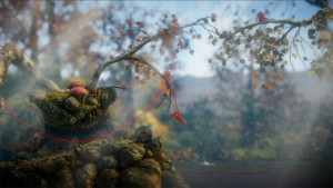 Unravel has visually stunning environments that really mimic a beautiful walk in the woods.