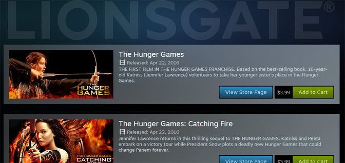 Lionsgate Launches Over 100 Movies Through Steam