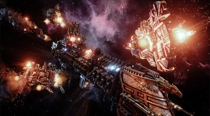 Battle with the Imperial Navy in Battlefleet Gothic: Armada