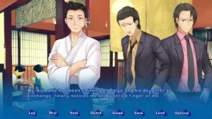 The game features different characters besides the four main protagonists including the player.