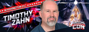 Timothy Zahn was a quest at Awesome Con 2016.