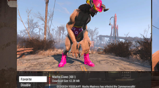 Playing With The Five Best New Fallout 4 Console Mods