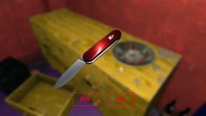 Does the pocket knife also HAVE to be red?