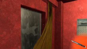 It's a (sort of) secret door. Wonder what else is hiding in this room?