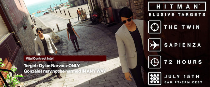 HITMAN Launches Companion App, Tough Elusive Target