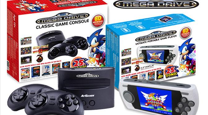 Sega Home Portable Consoles Available For European Pre-Orders