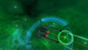 The space combat mechanics in this game are fantastic. 23rd Century space battle.