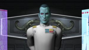 Grand Admiral Thrawn in Rebels Season 3