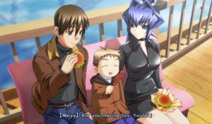 Takeru on a date with Meiya.