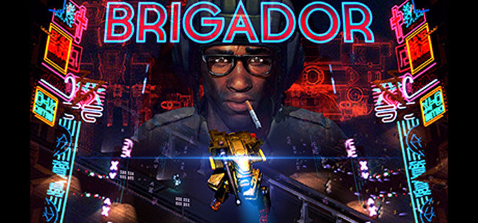 Explosive Brigador is Battletech Bathed in Neon