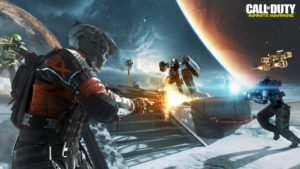 Gameplay from the Frost map. Frost takes place on Europa.