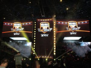 The Call of Duty World League stage.