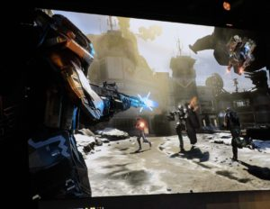 More gameplay footage from the Infinite Warfare keynote during Call of Duty XP.
