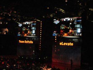 EnVyUs vs eLevate at the CWL finals.