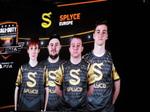 Team Splyce. Joee, Rated, Josh, and Bance.