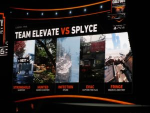 Maps and modes for the eLevate and Splyce match.