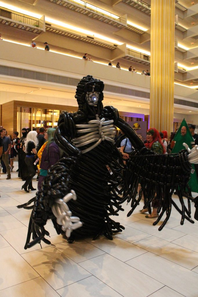 Okay, this is cool. It's Dementor, but made with all balloons!
