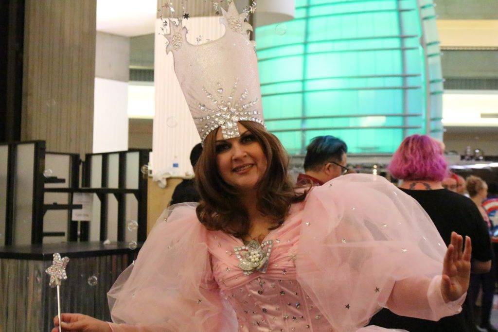 Blessings from Glinda the Good Witch.