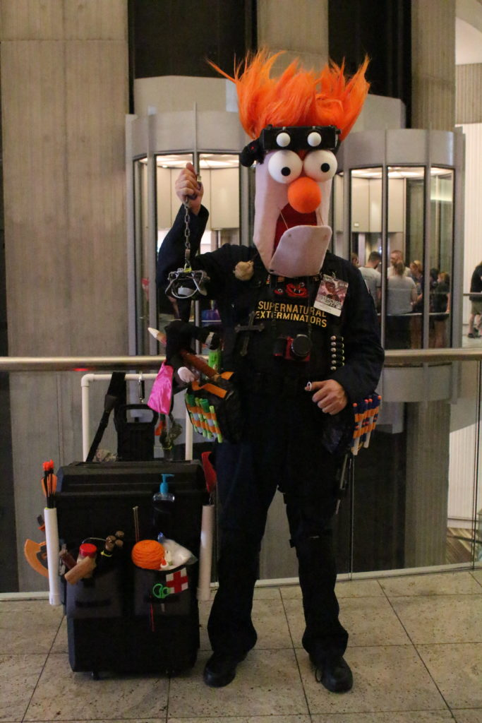 We wonder if Beaker knew that Piggy was also attending DragonCon this year?