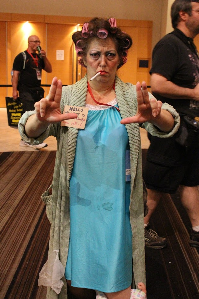 The Landlady from Kung Fu Hustle is apparently a DragonCon favorite. We get at least one every year!