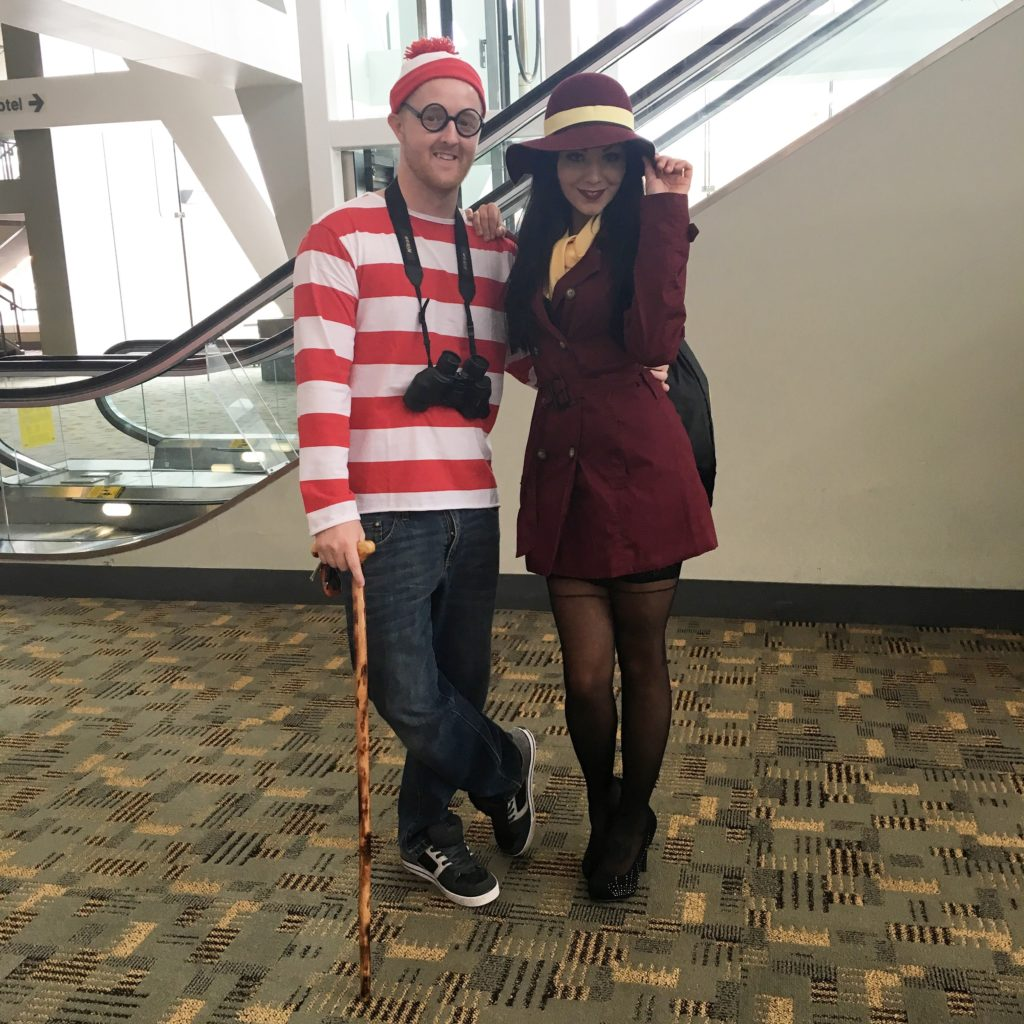 Waldo and Carmen found together in one place? Does anywhere nearby sell a Baltimore lottery ticket?