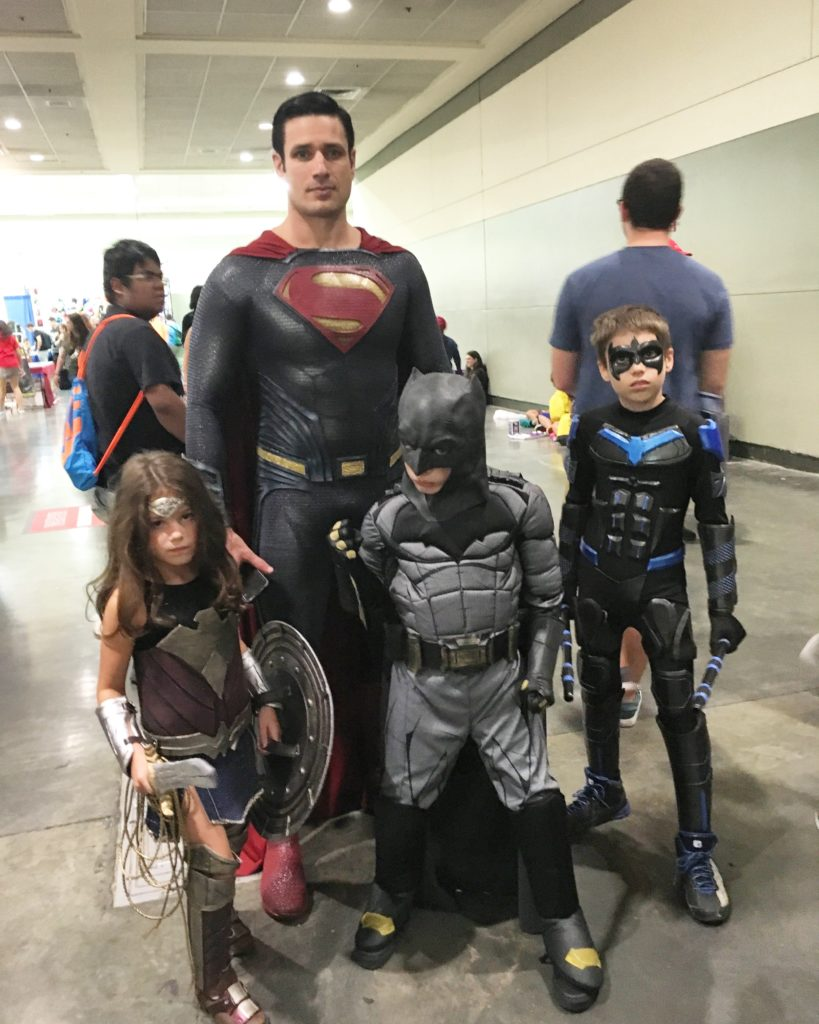 This entire family joined the Justice League!