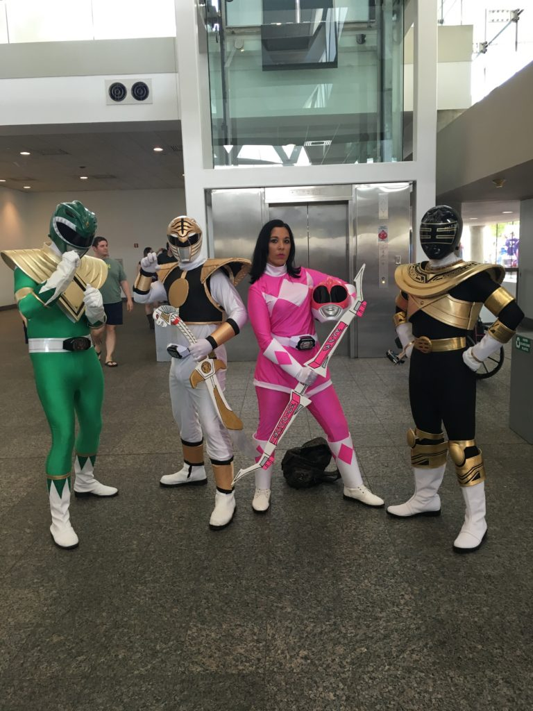 Go! Go! Power Rangers!