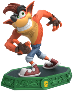 The amazing Crash Bandicoot is back! Though as a teacher at the academy, he's a little difficult to follow.