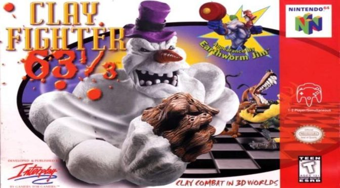 Retro Game Friday: ClayFighter 63⅓