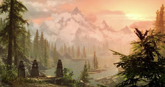 Epic Beauty: Second Skyrim Special Edition Trailer Released