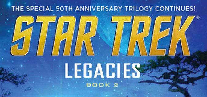 Great Sci-fi in Star Trek Legacies: Best Defense