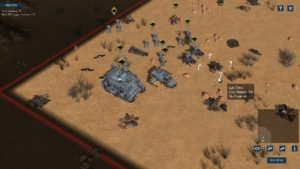 Deploying units