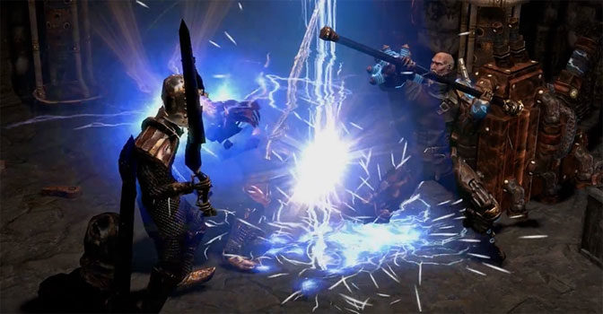 Path of Exile Plotting Over to Xbox One