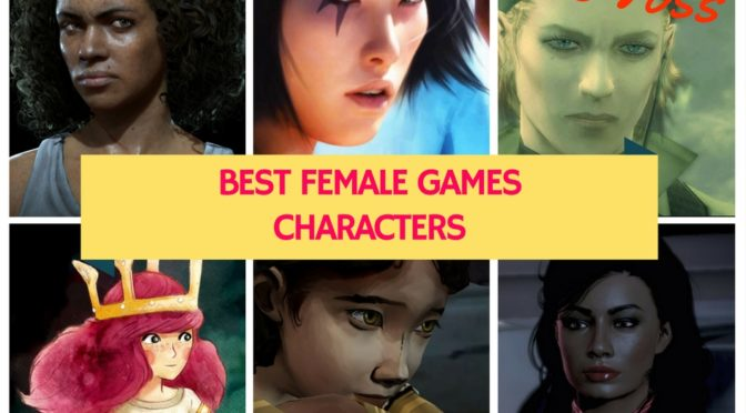 The Best Female Games Characters