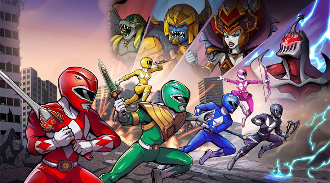 Nostalgic Fighting with Power Rangers Mega Battle