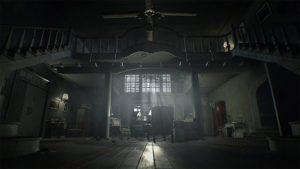 The creepy main house.